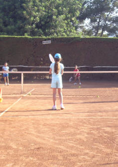 Tennis Camp kinder Spanien