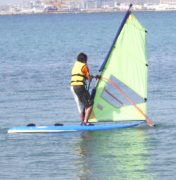 Windsurfing camp Spanien