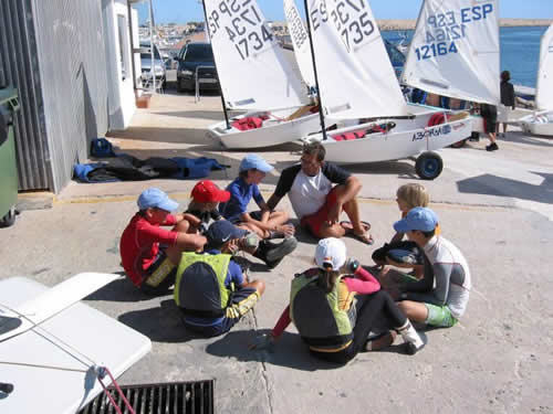Water sports camp for Children in Spain