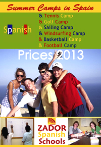Summer camps in Spain prices 2013