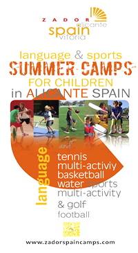 Summer Camps for Children Alicante Spain 2015