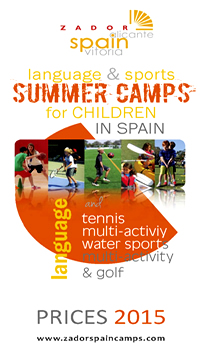 Summer Camps Children Spain Prices 2015