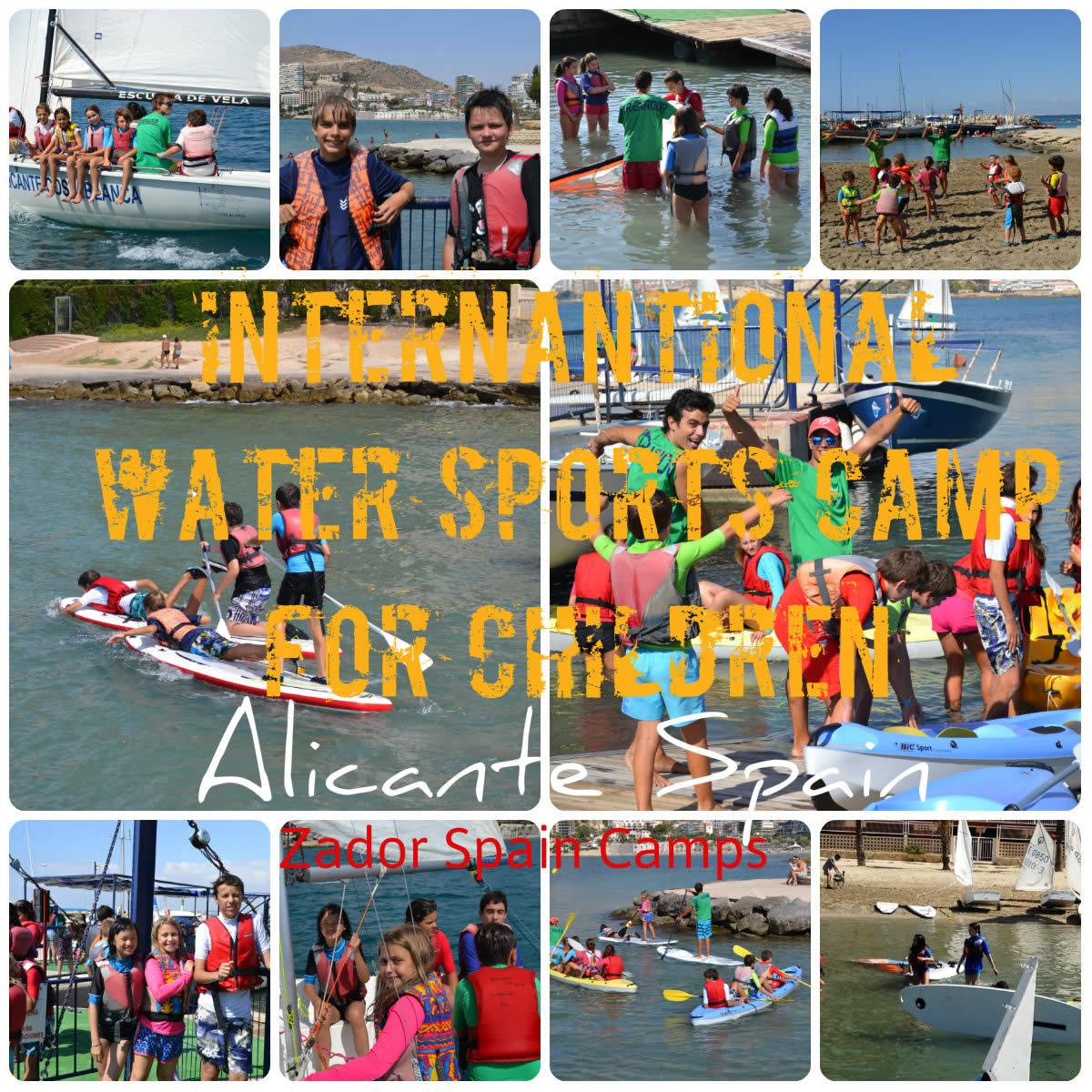 Water Sports Camps for Children Alicante Spain