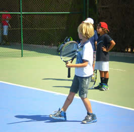Tennis Camp for children in Spain