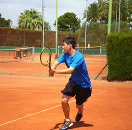 Tennis Camp in Spain